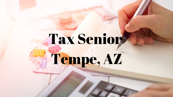 Tax Senior – Tempe, AZ