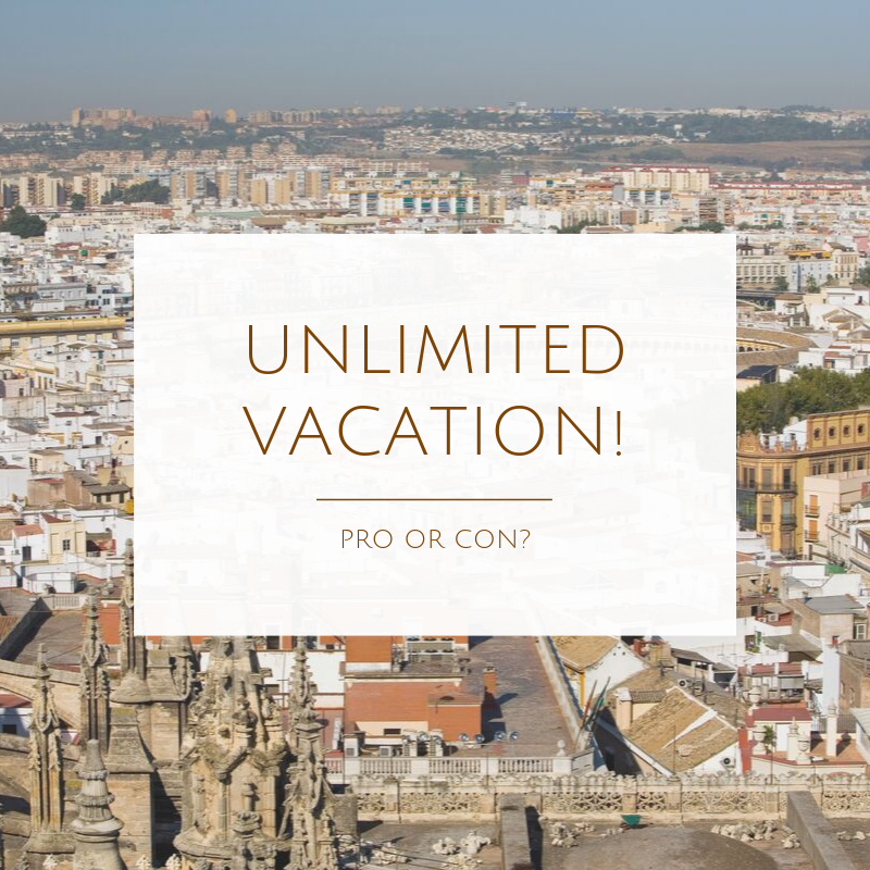 Unlimited vacation… Are you for it or against it?